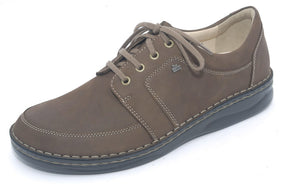 Finn Comfort Norwich 1111-260233 Wood Orthopaedic Shoe with Men's Removable Sole - Coordinator's Shop