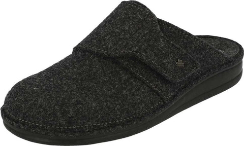 Finn Comfort TIROL 6500-416168 Anthrazit Orthopaedic Felt Clogs with Removable Insoles - Boutique du Cordonnier