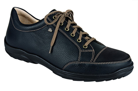 Finn Comfort ALAMO 1288-900598 Black Orthopaedic Shoes with removable insoles - Boutique du Cordonnier