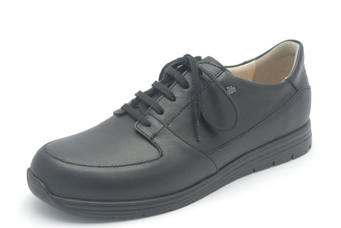 Finn Comfort VERNON-SOFT 1400-060099 Black LARGE Orthopedic Shoe with Removable Sole - Coordinator's Shop