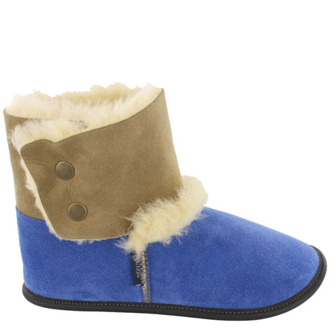 Garneau REVERSED SHEEPSKIN BOOTIE SLIPPERS Limoges for Women - Boutique du Cordonnier