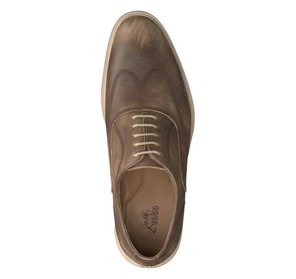 Johnston & Murphy CHAMBLISS WINGTIP 27-1410 Brun VENTE FINAL / FINAL SALE - Boutique du Cordonnier