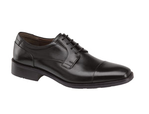 Johnston & Murphy LANCASTER CAP TOE 20-6901 Noir - Boutique du Cordonnier