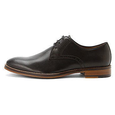 Johnston and EVEN MURPHY CONARD TOE 20-2235 BLACK CALFSKIN - Boutique of the Shoemaker