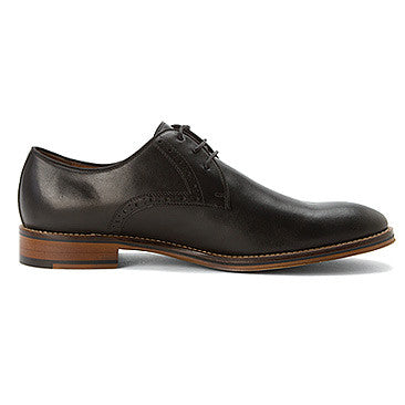 Johnston & Murphy CONARD PLAIN TOE 20-2235 Black Calfskin - Boutique du Cordonnier