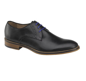 Johnston & Murphy CONARD PLAIN TOE 20-2235 Black Calfskin