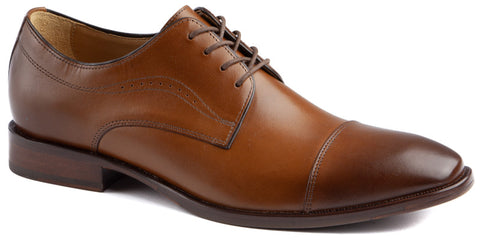 Johnston & Murphy MCCLAIN CAP TOE 20-5090 Brun - Boutique du Cordonnier