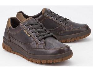 Mephisto PACO Dark Brown 8951 Comfortable Men's Shoes with laces and removable insoles - Boutique du Cordonnier