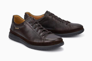 Mephisto THOMAS WIN. Dark Brown 6151/6100 Ultra-light Shoes with removable insoles - Boutique du Cordonnier