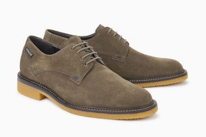 Mephisto GIANNI Dark Grey 9852 Men's Comfortable Shoes with Removable Soles - Coordinator's Shop