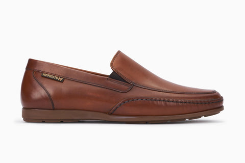 Mephisto ANDREAS Brandy 38111 Comfortable Shoes for men with removable insoles - Shop of the Shoemaker