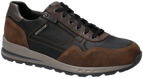 Mephisto BRADLEY Black 11735/1500 Comfortable lace-up Shoes for men with removable insoles - Boutique du Cordonnier