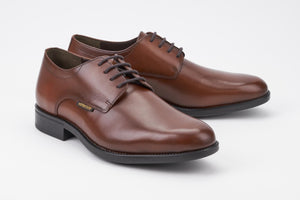 Mephisto COOPER Chestnut Men's Comfortable Shoes with Removable Soles - Coordinator's Shop