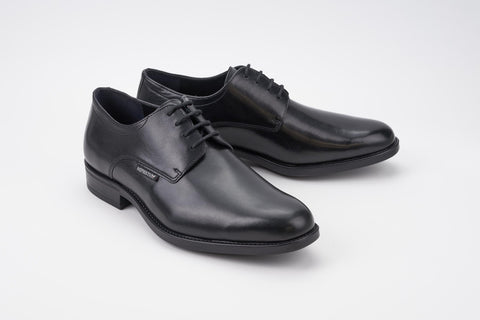 Mephisto COOPER Black Men's Comfortable Shoes with Removable Soles - Coordinator's Shop