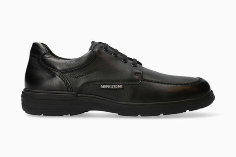 Mephisto DOUK Black 2100 Comfortable Men's shoes with removable insoles - Boutique du Cordonnier