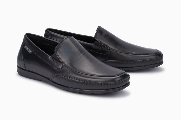 Mephisto ANDREAS Black 38100 Men's Comfortable Shoes with Removable Soles - Coordinator's Shop