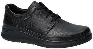 Mephisto JOSSELIN Black 1300/6100 Comfortable lace-up Shoes for men with removable insoles - Boutique du Cordonnier