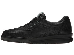 Mephisto MATCH Black Men's Comfortable Lace-up Shoes with Removable Soles - Coordinator's Shop