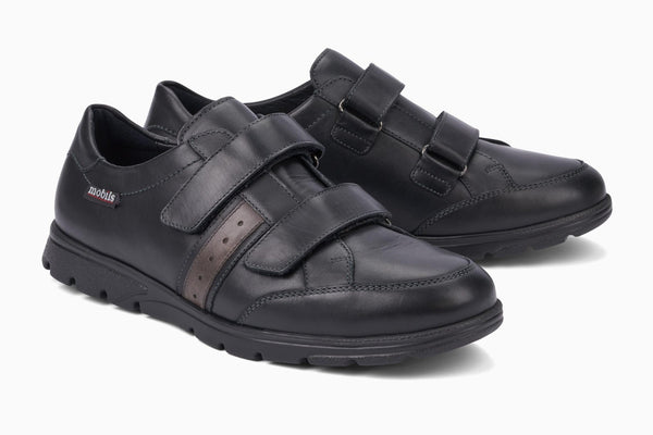 Mephisto mobile systems KRISTIAN Black 2000 Comfortable Shoes for men with removable insoles - Shop of the Shoemaker