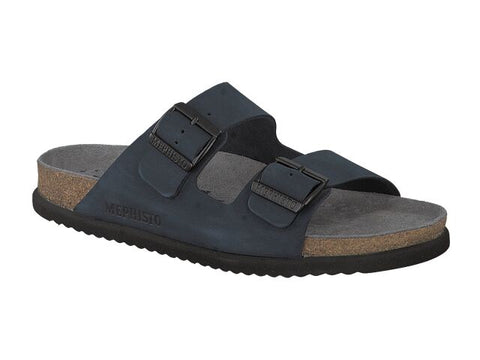 Mephisto NERIO Navy SANDALBUCK 6045 Men Orthopedic Men's Sandals Sandals - Coordinator's Shop