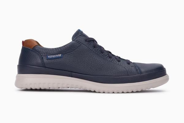 Mephisto THOMAS Navy Ultra-light shoe for men with removable soles - Boutique du Cordonnier
