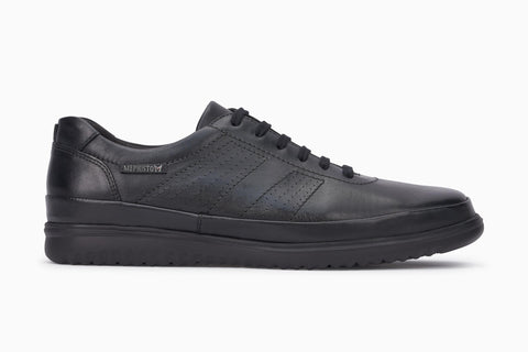 Pour Confortables Black Mephisto Mobils Hommes Diego Chaussures zMjGSUVqLp