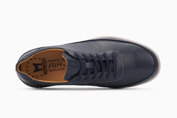 Mephisto TOMY Navy Men's ultra-light footwear with removable soles-Boutique du Cordonnier