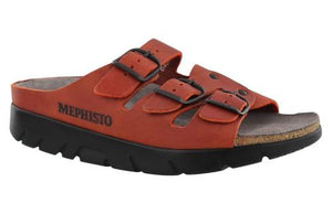 5da81523e4a Mephisto ZACH FIT Red 3401 LARGE Sandale pour Femmes Orthopédique Women  WIDE Orthopedic Sandals