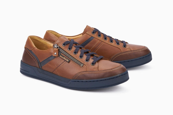 Mephisto Mobils ARNAUD Chestnut 6178/6135/6145 Footwear Confortables for men with removable soles-Boutique du Cordonnier