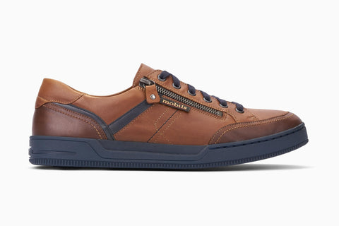 Mephisto Mobils ARNAUD Chestnut 6178/6135/6145 Men's Comfortable Shoes with removable soles - Coordinator's Shop