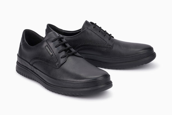 Mephisto TEDY Black 6100 Ultra-light shoe for men with removable soles - Boutique du Cordonnier