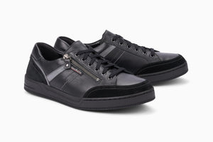 Mephisto Mobils ARNAUD Black 3600 Men's Comfortable Shoes with removable soles - Coordinator's Shop
