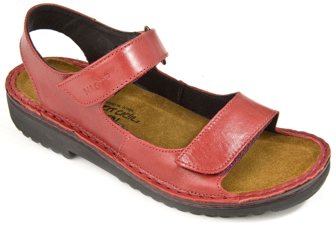 cfa79656f838 NAOT Karenna 60070-047 Poppy Sandal with Removable Insole for Orthotics -  Boutique du Cordonnier