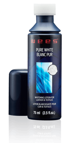 NEES - Pure White - Whitening Lotion for Leather and Textiles 75ml - Boutique du Cordonnier