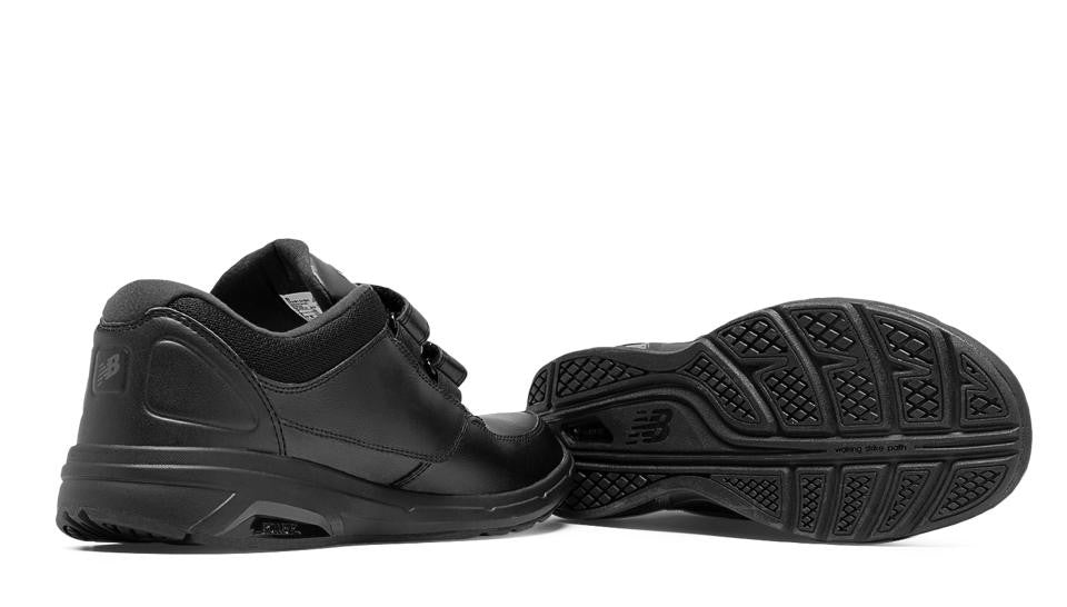 56e26b8390c New Balance 813 MW813HBK Black Walking Shoes for Men VELCRO with Removable  Insoles for Orthotics Walking Men Shoe VELCRO Removable Footbed for  Orthotics ...