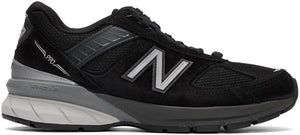 New Balance M990BK5 Black Running Shoes Made in USA with removable Insole - Boutique du Cordonnier