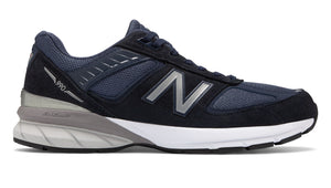 New Balance M990NV5 Navy Running Shoes Made in USA with removable Insole - Boutique du Cordonnier