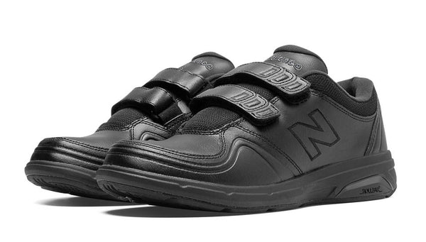 New Balance 813 WW813HBK Black Chaussures de Marche pour Femmes VELCRO avec Semelles Amovibles pour Orthèses Walking Women Shoe VELCRO Removable Footbed for Orthotics - Boutique du Cordonnier
