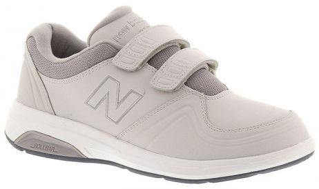 New Balance 813 WW813HGY Gris Chaussures de Marche pour Femmes VELCRO avec Semelles Amovibles pour Orthèses Walking Women Shoe VELCRO Removable Footbed for Orthotics - Boutique du Cordonnier