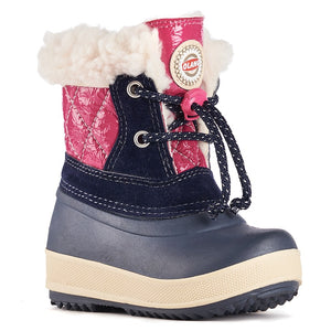 Olang APE BLU FUXIA Children's Winter Boots - Boutique du Cordonnier