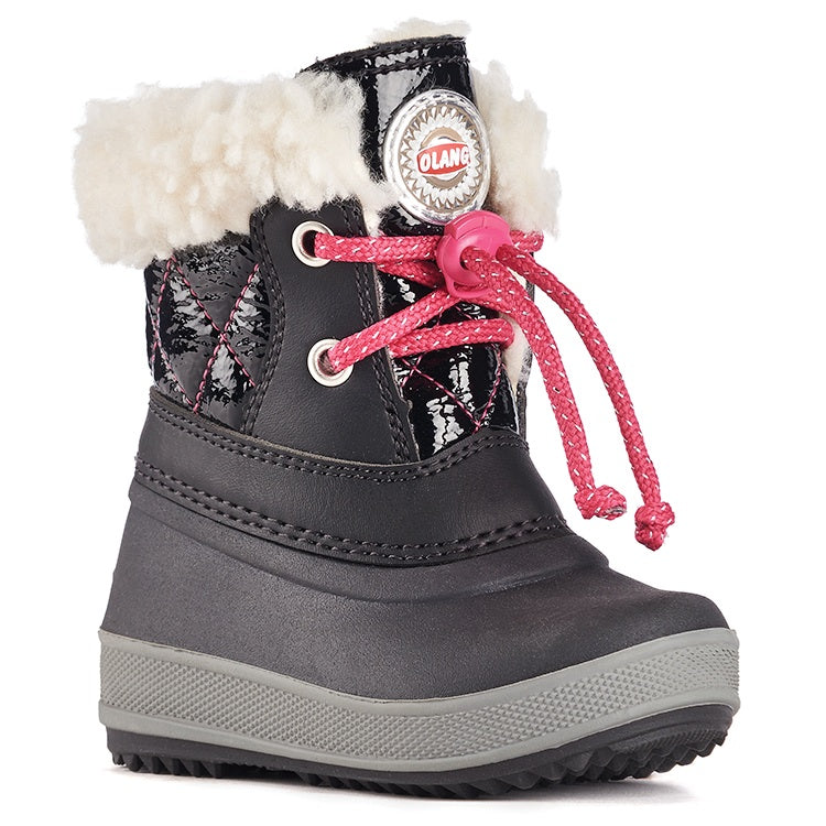 Olang APE NERO FUXIA Boots Winters for Kids - Shop of the Shoemaker
