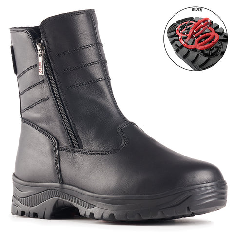 Olang DAKAR NERO Boot with folding cleats for men - Coordinator's Shop