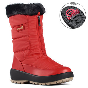 Olang GEMMA ROSSO BOTTE of winter with rabattables staples for women - Boutique of the Shoemaker
