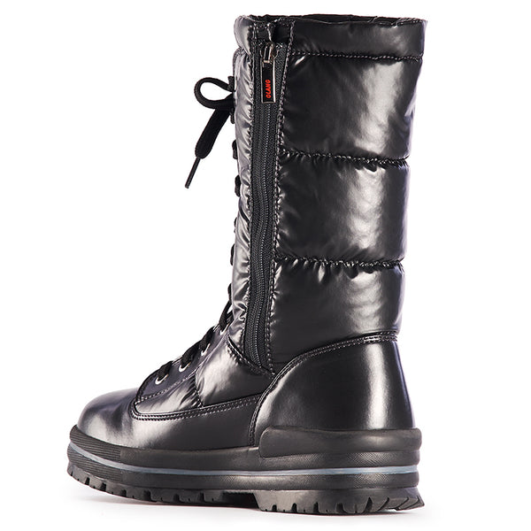 Olang GLAMOUR NERO Winter boot with rabattables staples for women - Boutique of the Shoemaker