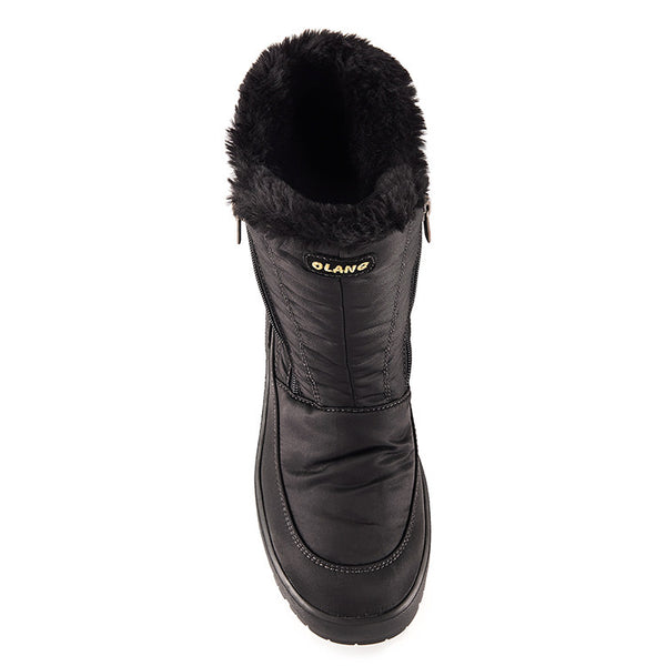 Olang MONICA NERO Botte avec crampon rabattable Femmes Winter Boot with pivoting GRIP Women