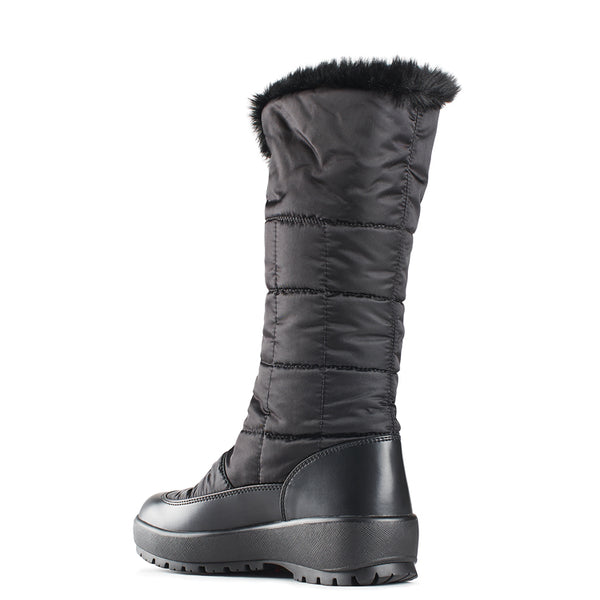 Olang BARBARA NERO Winter Boots with pivoting GRIPS for women - Boutique du Cordonnier