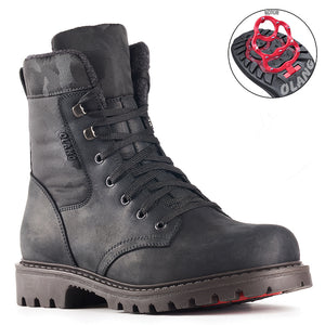 Olang CUBA NERO Boot with rabattables staples for Man - Boutique of the Shoemaker