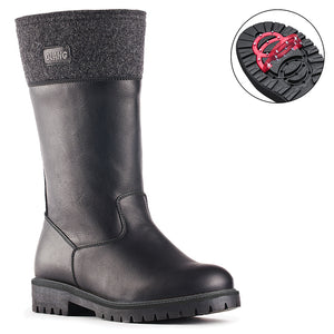 Olang INDIE NERO Women's Winter Boots with pivoting GRIPS - Boutique du Cordonnier