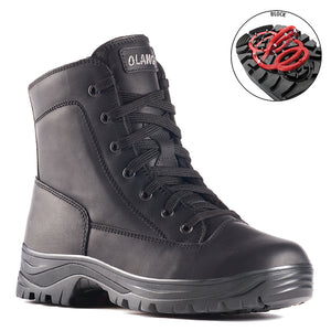 Olang LUDO NERO Boot with folding crampons for Men - Boutique du Cordonnier