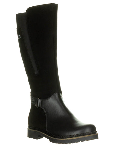 Pajar JENNIFER Eldorado Black Warm boot Sheepskin MADE IN CANADA - Boutique du Cordonnier